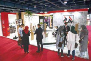 غرفه گروه شرکت های شینا در دوازدهمین نمایشگاه بین المللی در و پنجره تهران 99  بازدیدکنندگان