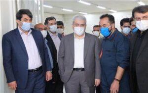 معاون رییس جمهوری از نمایشگاه های محصول فناوری یزد بازدید کرد