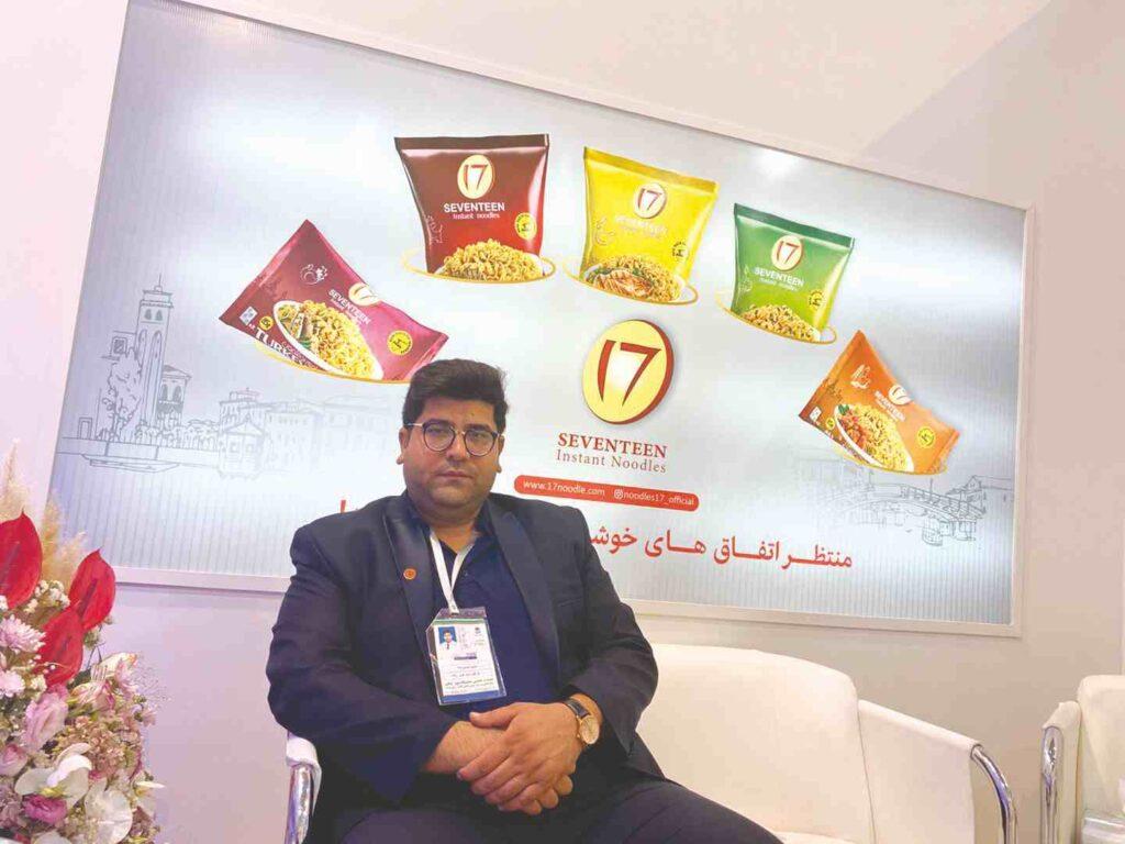 حسین حسینی پناه مدیرعامل شرکت کشت و صنعت گل گندم دشت کویر